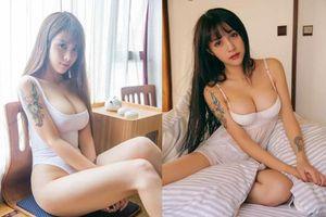 Ngắm thân hình cực phẩm của nữ thần quyến rũ Trung Quốc