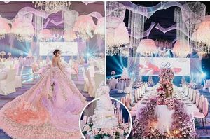 Choáng với tiệc sinh nhật xa xỉ gần 700 triệu của ái nữ nhà giàu, khách mời còn được tặng túi Louis Vuitton