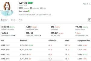 Hậu ly hôn Song Joong Ki, lượng follow của Song Hye Kyo trên Instagram tăng đột biến