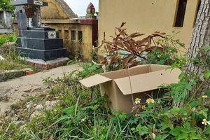 Thanh Hóa: Phát hiện một thi thể bé sơ sinh bỏ lại tại nghĩa trang