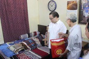 Bí thư Thành ủy Hà Nội Hoàng Trung Hải thăm hỏi, tri ân gia đình chính sách