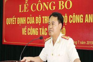 Bộ Trưởng Công an bổ nhiệm Trưởng Công an TP Thanh Hóa