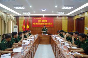 Bộ Tổng Tham mưu phúc tra chất lượng vũ khí trang bị tại BĐBP Bình Phước