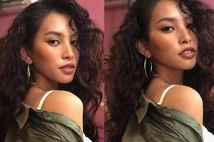 Hoa hậu Tiểu Vy gây bất ngờ với style tóc xù gợi cảm đầy cá tính