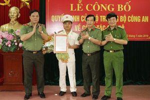 Công bố Quyết định bổ nhiệm Trưởng Công an TP Thanh Hóa
