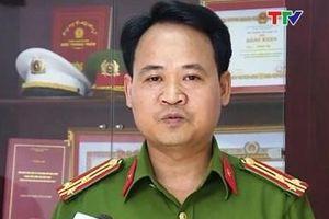 Thượng tá Lê Ngọc Anh được bổ nhiệm Trưởng Công an TP Thanh Hóa