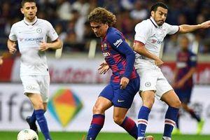 Antoine Griezmann mờ nhạt, Barcelona bại trận trước Chelsea