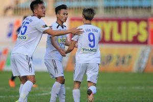 CLB HAGL đón tin cực vui trước vòng 18 V.League