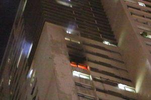 Hà Nội: Cháy căn hộ tại dự án Pride của Hải Phát, người dân hoảng sợ bỏ chạy trong đêm