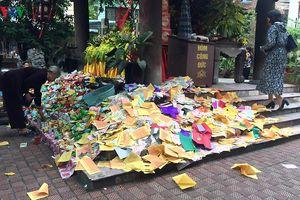 Đại lễ Vu lan báo hiếu 2019: Không đốt vàng mã, không cúng lễ thu tiền