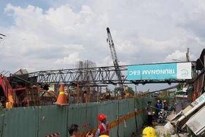 Đã khắc phục xong hậu quả sập cần cẩu ở dự án chống ngập 10.000 tỷ