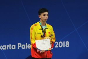 Thần đồng bơi lội Việt Nam giành vé đầu tiên dự Olympic 2020