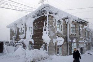 Khám phá ngôi làng quanh năm băng giá