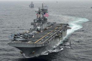 Chiến hạm Mỹ hạ gục máy bay không người lái thứ hai của Iran?