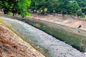 Sông Sét vẫn ô nhiễm nặng