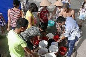 Gần 140 nghìn hộ dân thiếu nước sinh hoạt