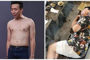Khoe cảnh tập luyện lấy lại vóc dáng, Trấn Thành bị dân mạng giỡn mặt: 'Hít xong lấy sức ăn tiếp chứ gì?'