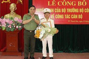 Tân Trưởng Công an thành phố Thanh Hóa là ai?