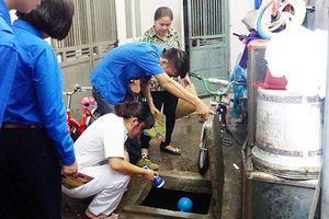 Hà Nội: Vệ sinh môi trường, phòng chống dịch sốt xuất huyết