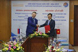 Giao lưu thanh niên Việt – Nga phát triển lên tầm cao mới