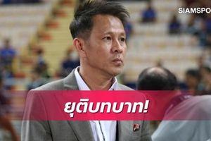 Sếp lớn của ĐT Thái Lan từ chức trước 'đại chiến' với Việt Nam ở vòng loại World Cup