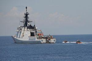 'Mỹ muốn làm gương ở biển Đông'