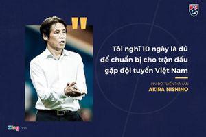 HLV tuyển Thái Lan tự làm khó mình với phát ngôn mạnh mẽ