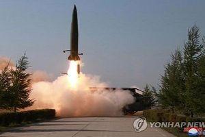 Triều Tiên vừa phóng hai quả tên lửa ra biển Nhật Bản?