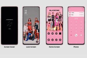 Cận cảnh Galaxy A80 phiên bản Black Pink khiến fan cuồng ngây ngất