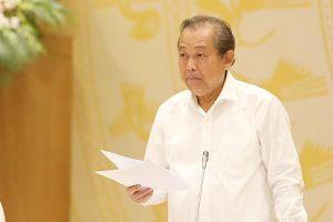 Phó Thủ tướng Trương Hòa Bình: Xem xét trách nhiệm của Cục trưởng Cục Quản lý thị trường Quảng Ninh