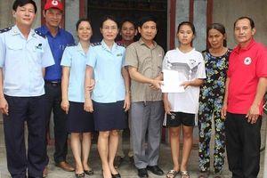 Hải quan Quảng Trị tiếp nhận, hỗ trợ 2 địa chỉ nhân đạo