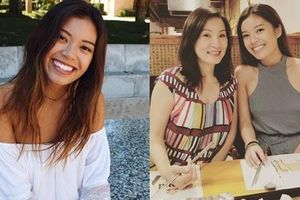 Bất ngờ trước nhan sắc cực bắt mắt của cặp ái nữ nhà Hồng Đào - Quang Minh