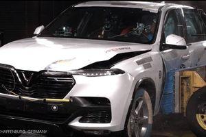 VinFast Lux thử nghiệm an toàn tại châu Âu