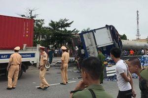 Tạm giam tài xế xe tải gây tai nạn nghiêm trọng ở Hải Dương