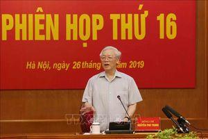 Tổng Bí thư, Chủ tịch nước chủ trì Phiên họp thứ 16 Ban Chỉ đạo Trung ương về phòng, chống tham nhũng