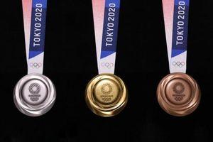 Tokyo công bố mẫu huy chương Olympic 2020 làm từ rác điện tử