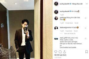 Ji Chang Wook - Kim Jae Joong chia sẻ trạng thái khi đến Việt Nam, Eunhyuk - Lee Teuk và Hyomin nhắn nhủ bằng tiếng Việt