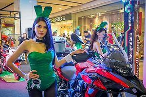 'Bỏng mắt' ngắm dàn thỏ playboy Thái bên Benelli TRK 502
