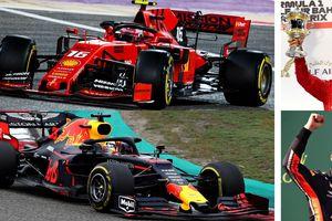 Verstappen vs Leclerc: Cuộc chiến vương quyền trên đường đua F1