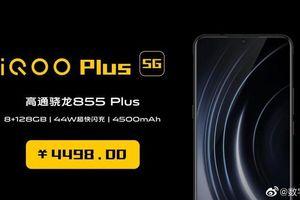 Lộ cấu hình và giá bán chi tiết vivo iQOO Plus 5G