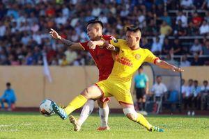 Đánh bại SLNA, Nam Định lần đầu tiến vào nhóm các đội bóng dẫn đầu V.League