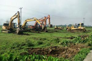 Vĩnh Phúc: Vĩnh Tường san gạt mặt bằng Cụm công nghiệp Đồng Sóc