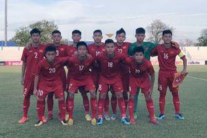 Giải U15 Đông Nam Á 2019: Việt Nam có 3 điểm đầu tiên