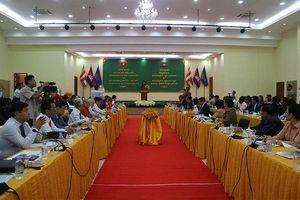 Hội Hữu nghị hai nước Việt Nam - Campuchia hợp tác đi vào chiều sâu