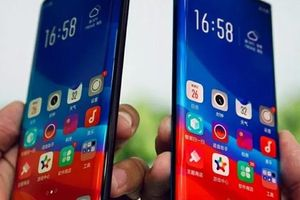 Oppo nhá hàng smartphone màn hình tràn viền thác nước cực 'sexy'