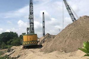 TP Hồ Chí Minh: Nhan nhản bãi tập kết vật liệu xây dựng trái phép