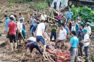 Hà Giang: Sạt lở đất do mưa to, 1 người chết, 3 người thương nặng