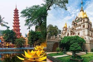2 ngôi chùa Việt Nam lọt vào danh sách kiến trúc Phật giáo đẹp nhất thế giới