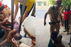 Thiếu tá cảnh sát nhanh trí cứu bé trai bị nạn hiếm gặp