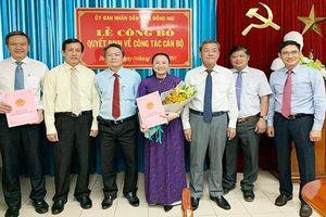 Bà Võ Thị Xuân Đào được bổ nhiệm chức Giám đốc Sở Tư pháp tỉnh Đồng Nai